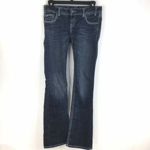 Rock & Roll Cowgirl Junior Low Rise Jeans
